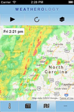 Weatherology App Screenshot 1