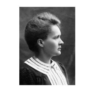 Image of Marie Curie.