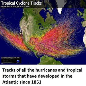 Tropical Storm Hurricane History